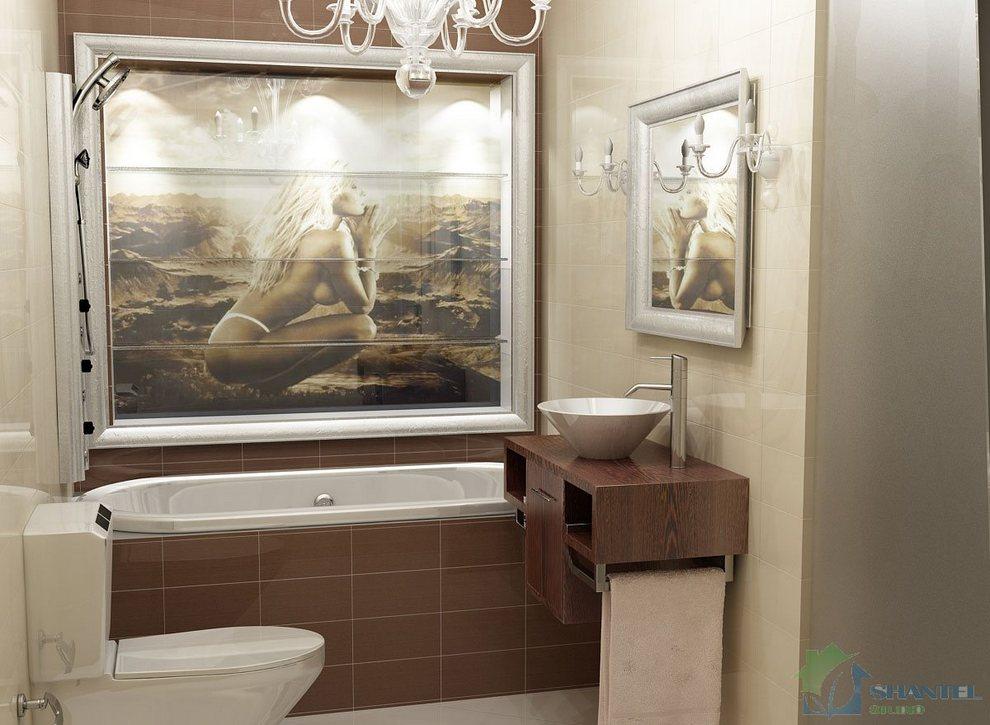 Дизайн нестандартных ванных комнат