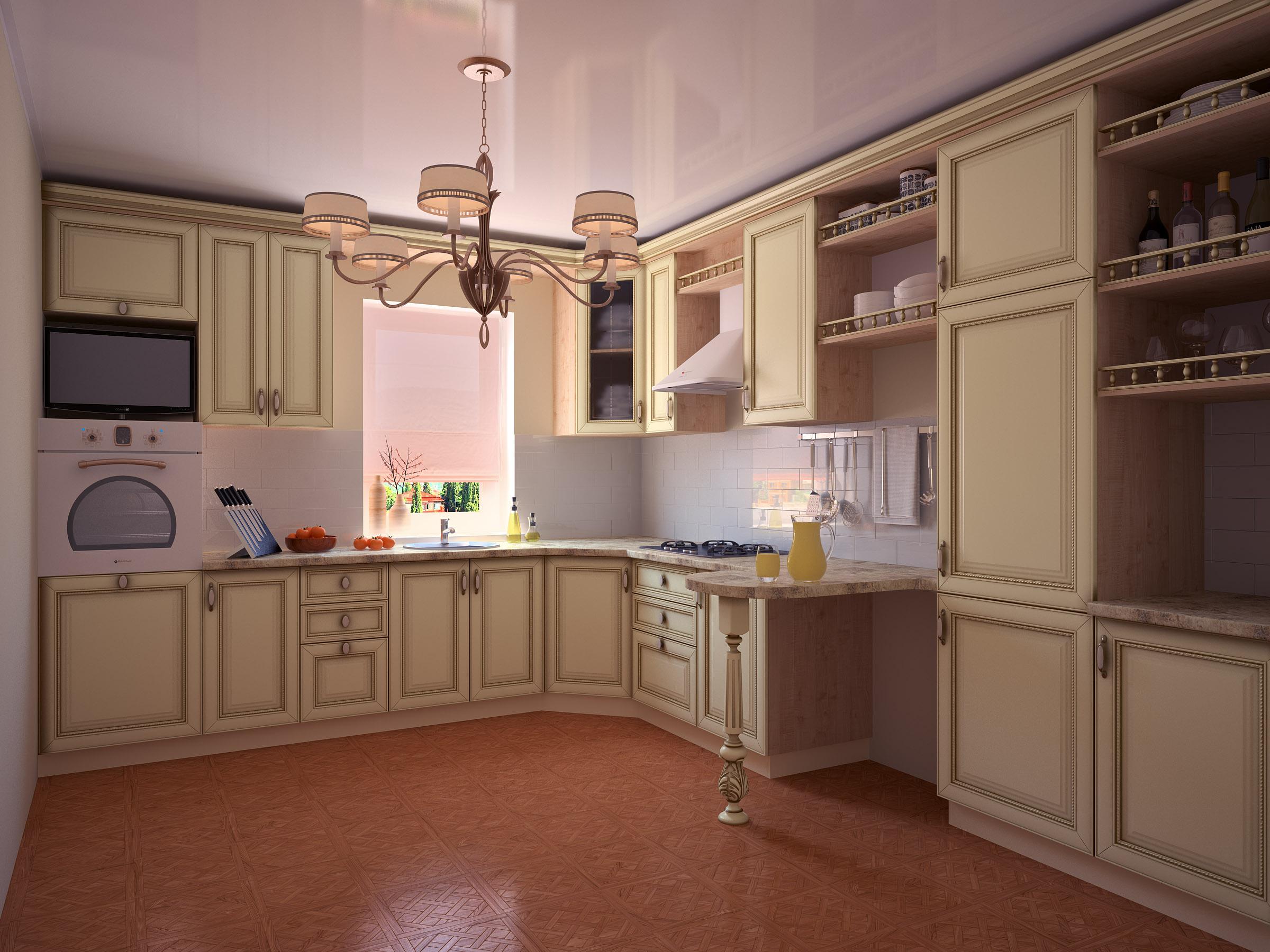Мебель: кухни из массива